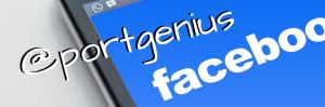Enlace a la página de Facebook de Port Genius