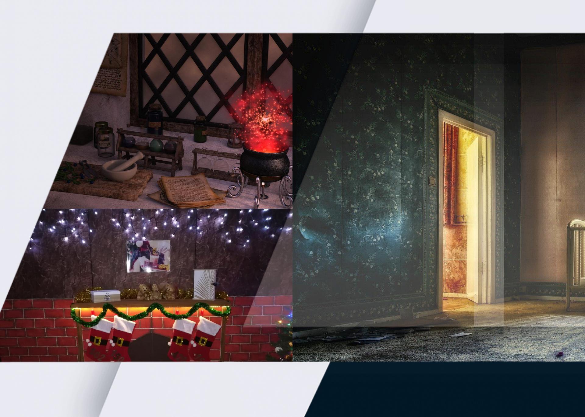 collage imagenes escape room portátiles
